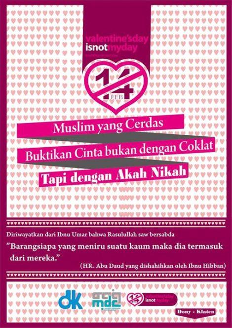 Valentine Days Poster - Muslim Designer Community 9