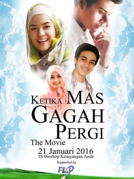 poster Film Ketika Mas Gagah Pergi versi FLP 2